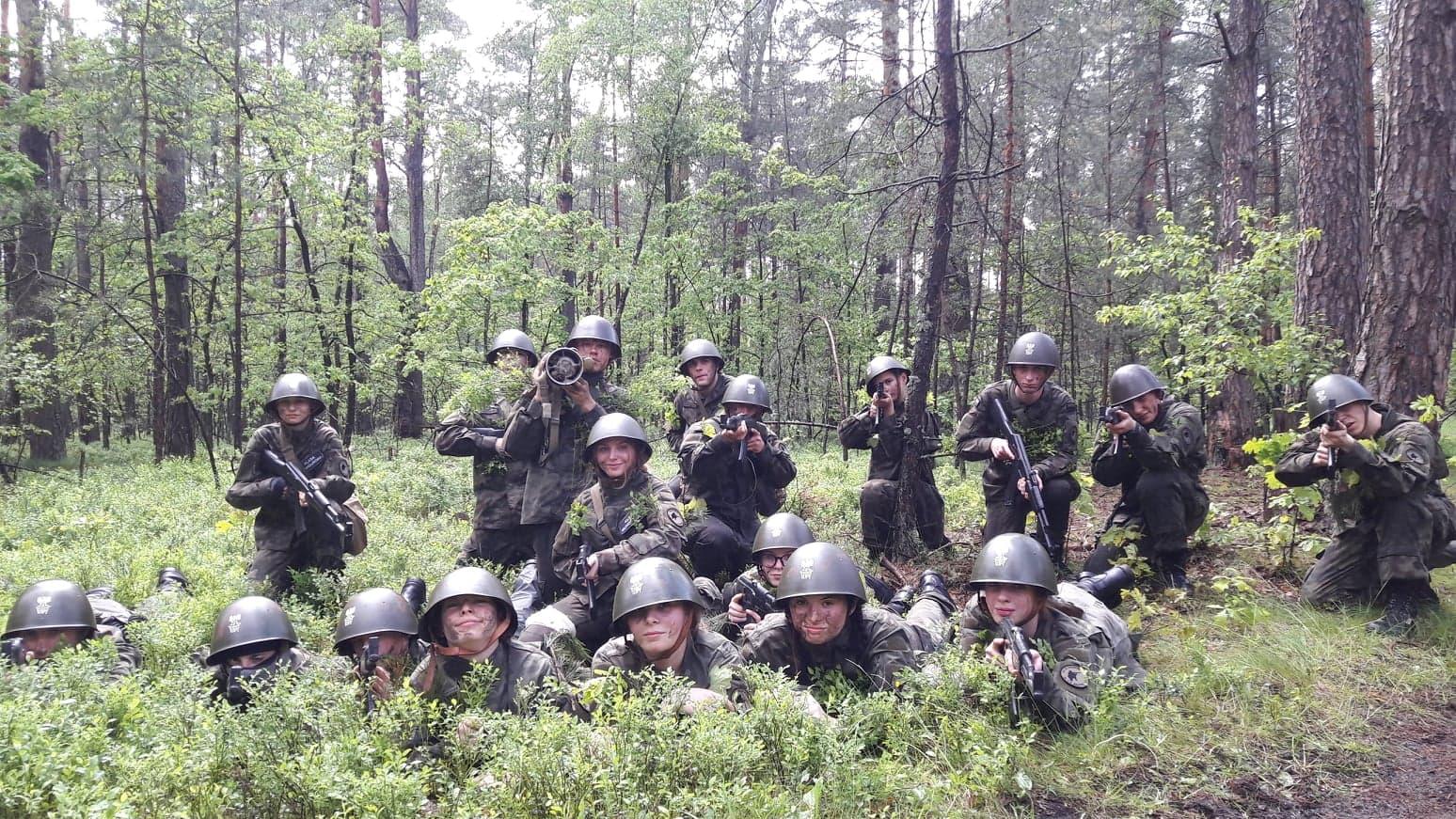 Poligon letni klas mundurowych
