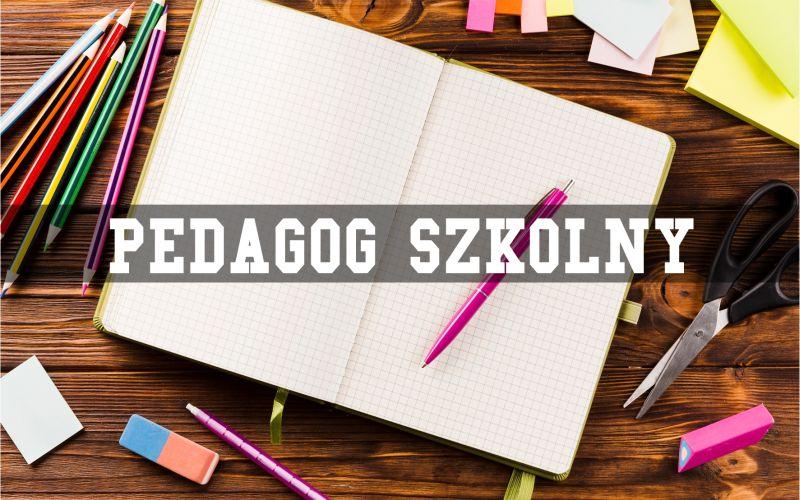 Godziny pracy pedagoga szkolnego