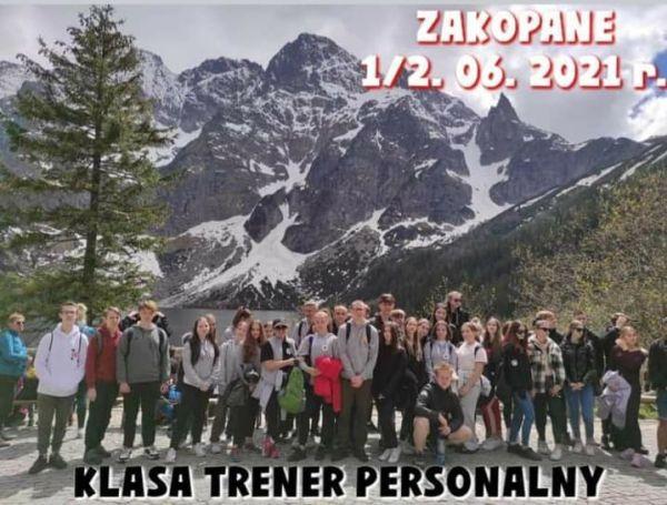 Wycieczka szkoleniowo-integracyjna klas trenera personalnego- Zakopane 2021